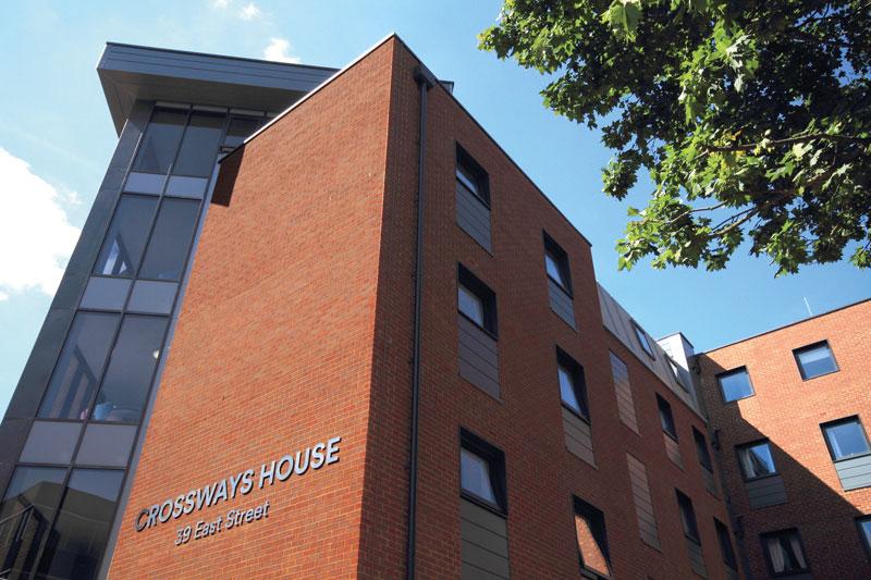 Crossways House Student Block