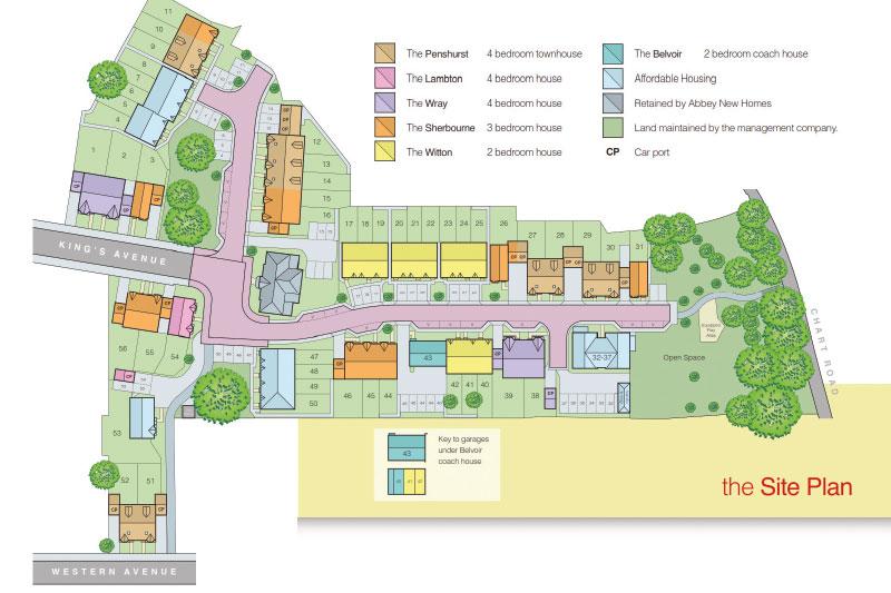 Jubilee Place siteplan