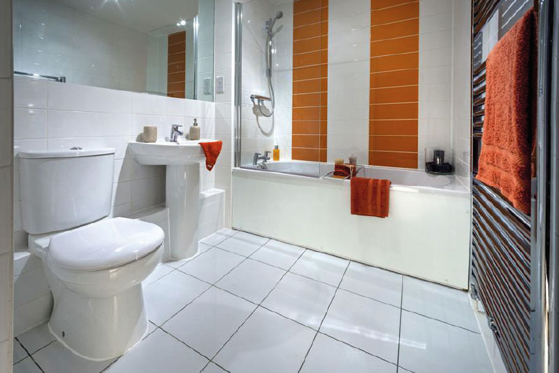 Bathroom suite at Tower Hill, Bexley